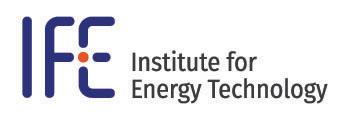 logo Institute for Energy Technology, IFE, gå their website