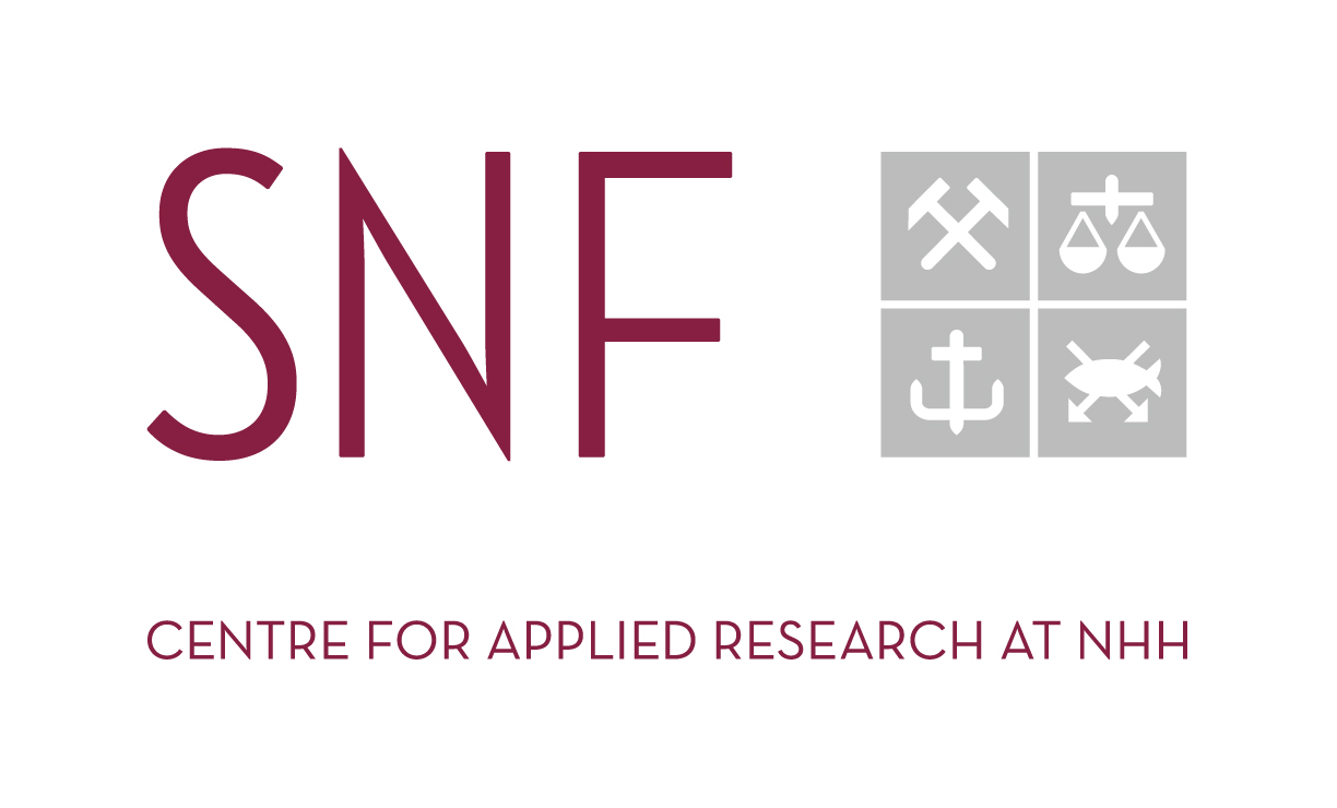 logo Centre for applied research at NHH, go to SNF website