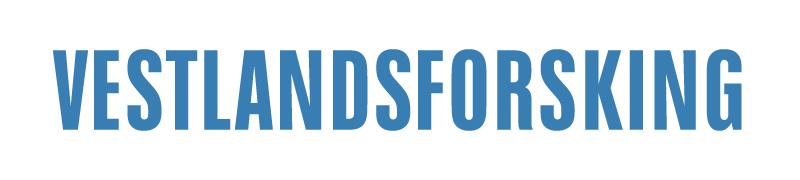 logo Vestlandsforskning, gå til Vestlandsforskning sitt nettsted