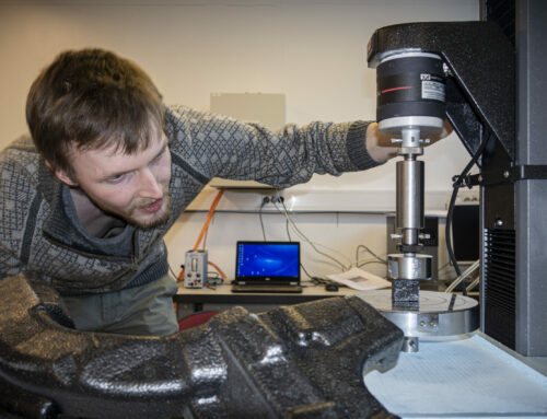 Ultralight Polymer Foams Could Save Your Life,  New PhD Reveals their Response to Impact