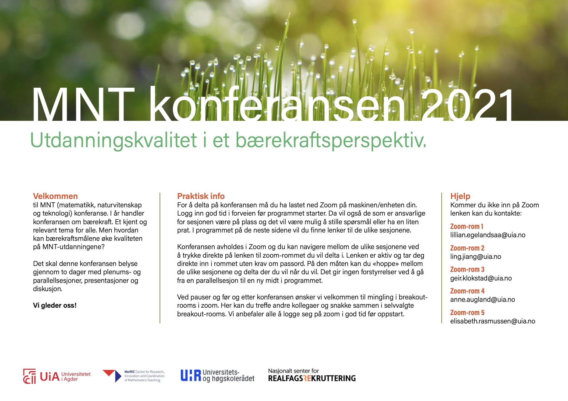 View Vol. 5 No. 1 (2021): Vol. 5, No. 1, MNT konferansen 2021