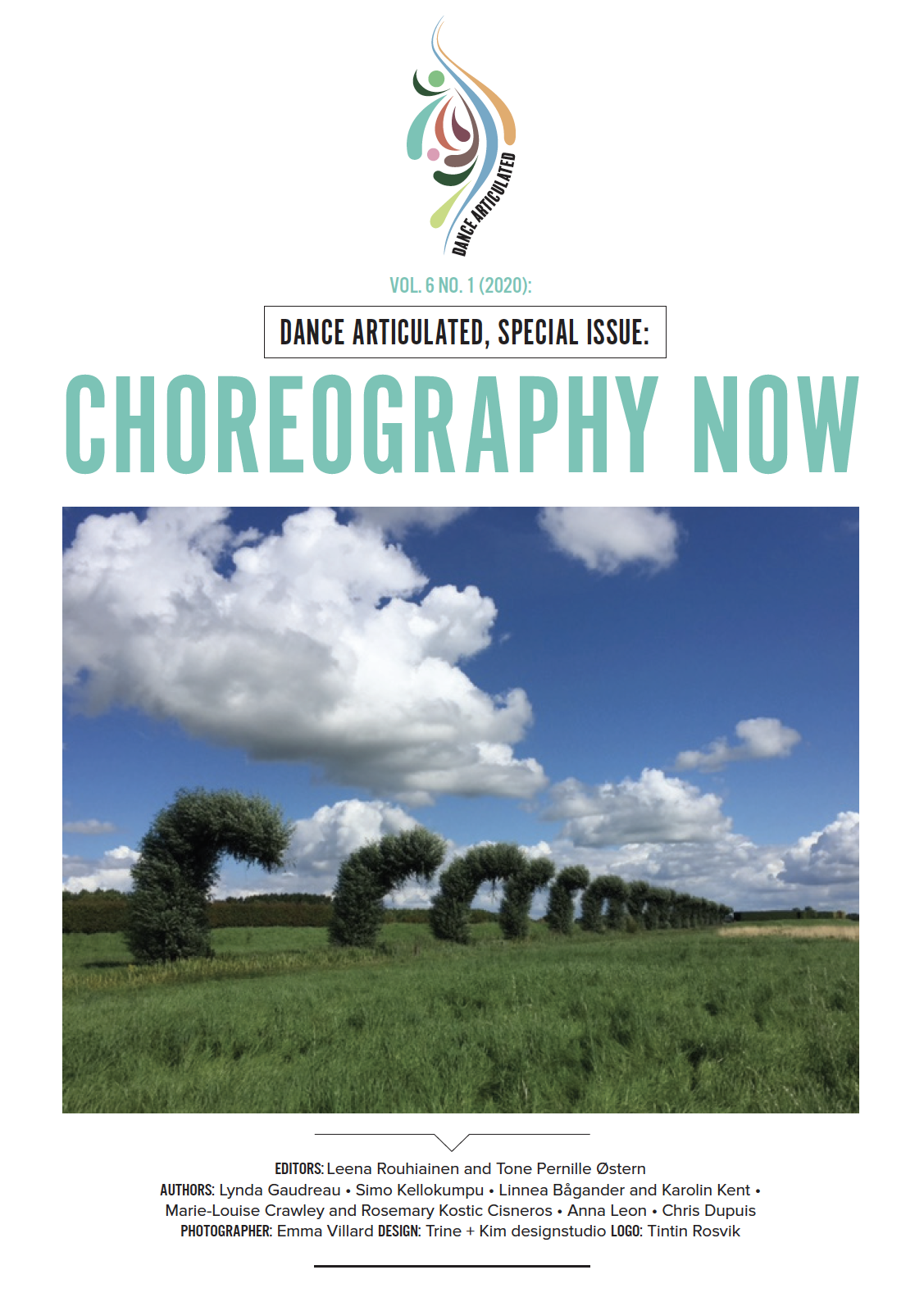 View Vol. 6 No. 1 (2020): Dance Articulated, Special Issue: CHOREOGRAPHY NOW
