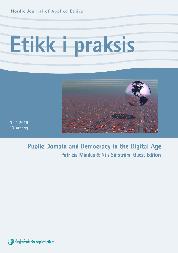 Public Domain and Democracy in the Digital Age