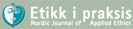 EiP - Nordic Journal of Applied Ethics