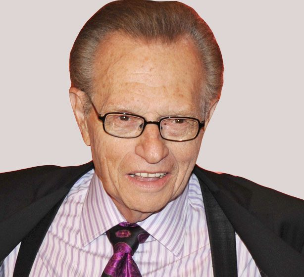 Larry King PHOTOCREDITANDERS KRUSBERGPEABODY AWARDS