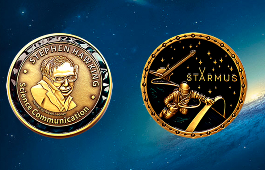 Stephen Hawking Medal Ceremony